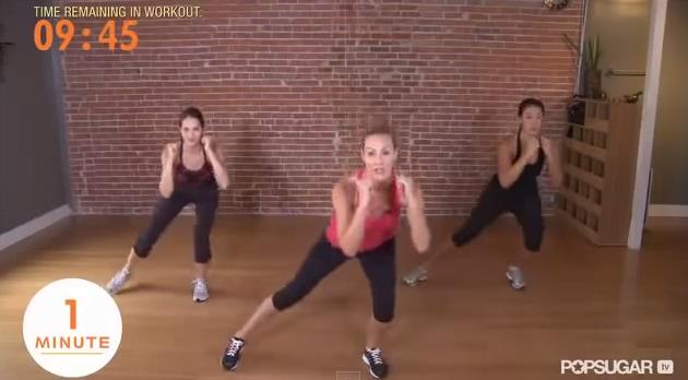 Video 10 minute Pilates Victoria Secret Model workout